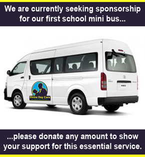 Divine Day Care Mini Bus Request