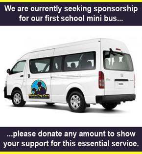 Divine Day Care Mini Bus Request