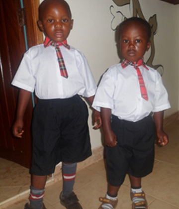 Divine Day Care Children Christopher and Jedidiah