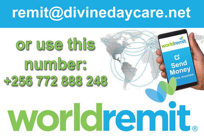 Divine Day Care Kajjansi Payment World Remit
