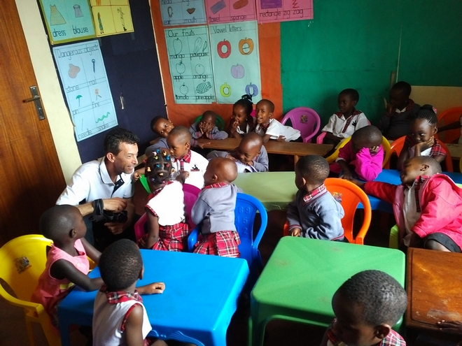 blackstar STUDIO visits the Divine Day Care Uganda
