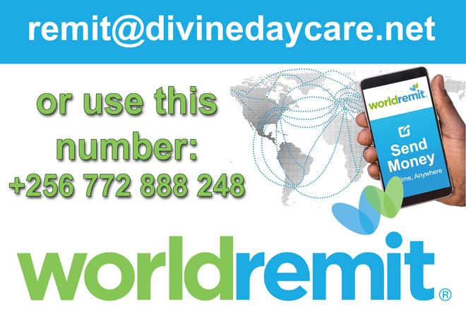 Divine Day Care Kajjansi Payment World Remit