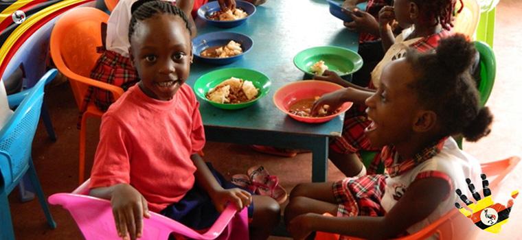 Divine Day Care Kajjansi Uganda Photos Lunch Time